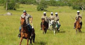 horse-riding lake mburo